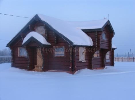 Дом «Сказка» ручная рубка 250 кв.м фото