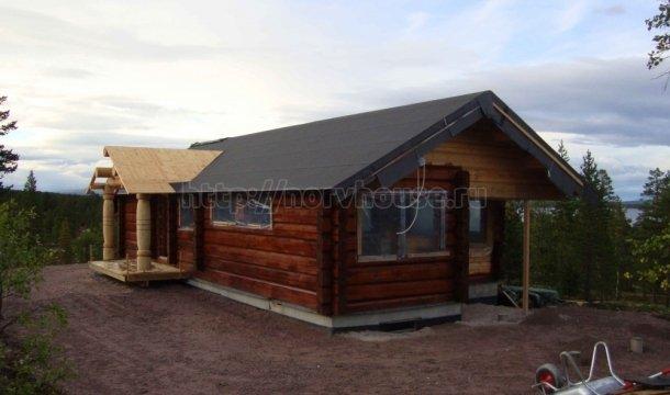 деревянные дома ручной рубки фото