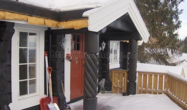 норвежская рубка домов фото